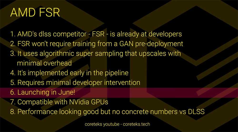 fidelityfx super resolution lanzamiento