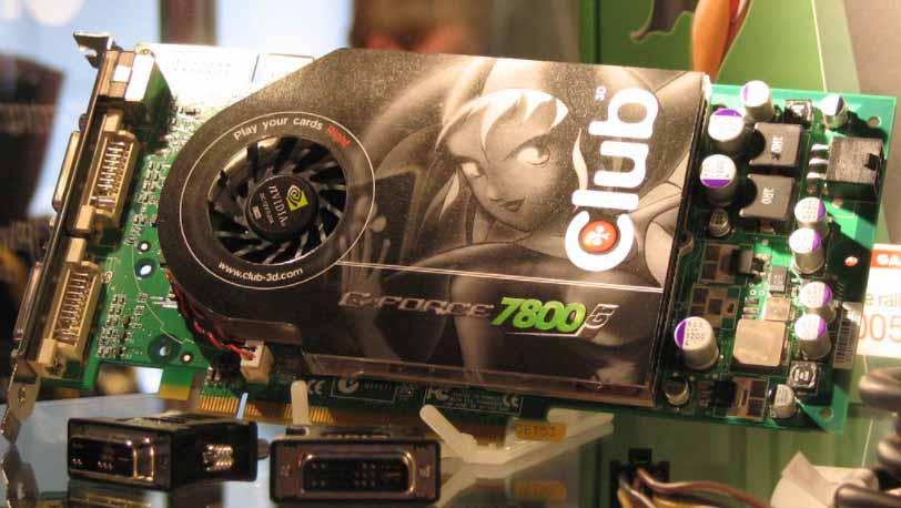 nvidia 7800 gtx