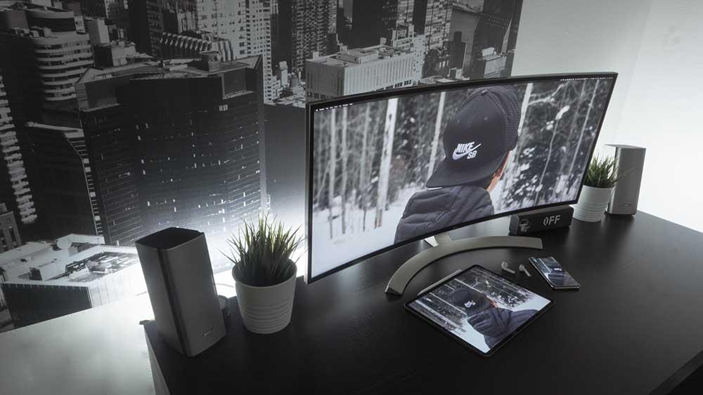 monitores curvos