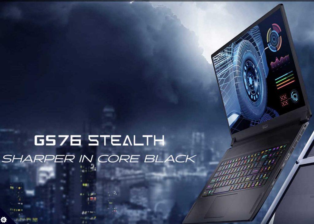 msi g76 stealth