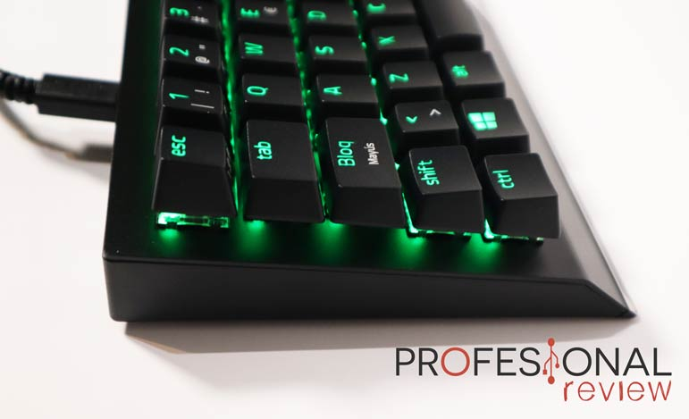 RazerBlackWidowV3 MiniHyperspeed review