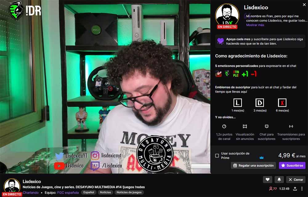 streaming lisdexico