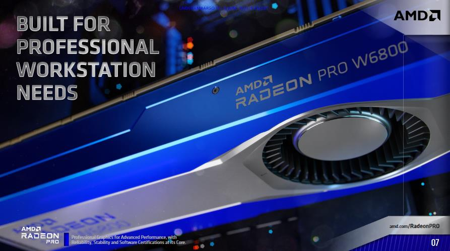 AMD Radeon PRO W6000 W6800 W6600