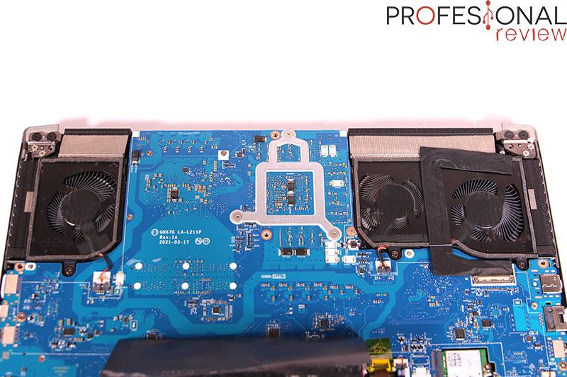 Acer Predator Triton 500 Disipador