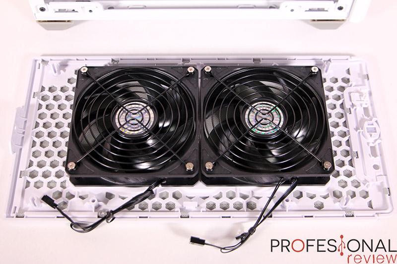 Cooler Master MasterBox NR200P Ventiladores