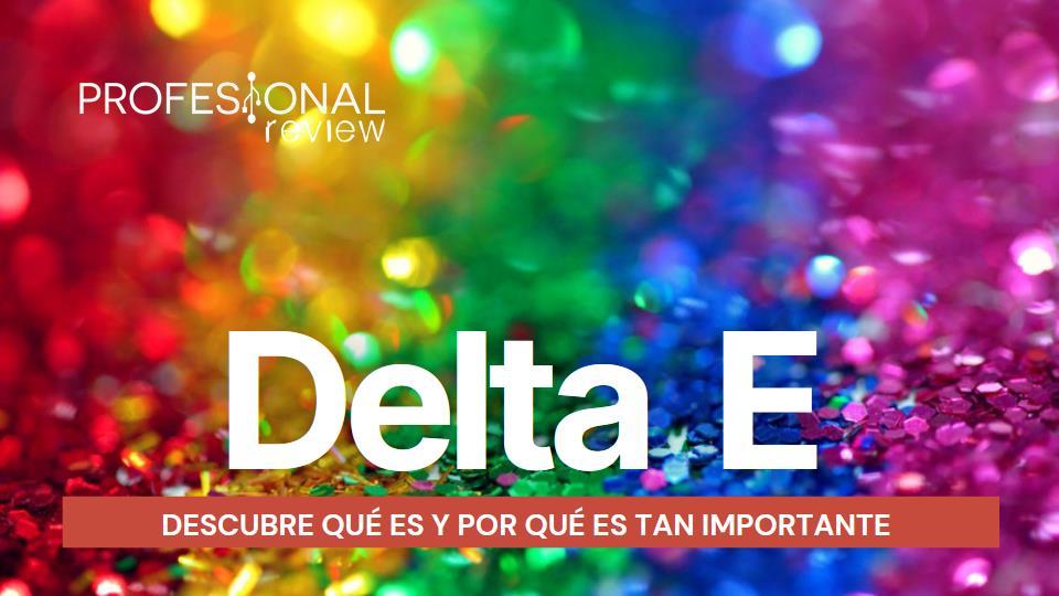 Delta E Qué es
