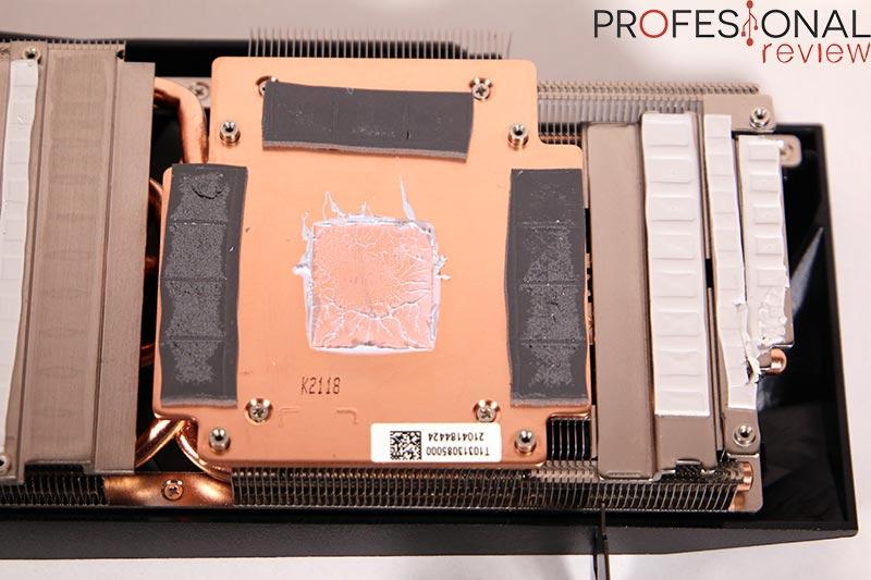 Gigabyte RTX 3080 Ti Gaming OC 12G Disipador