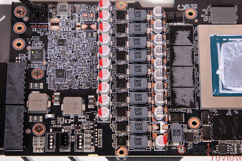 Gigabyte RTX 3080 Ti Gaming OC 12G PCB