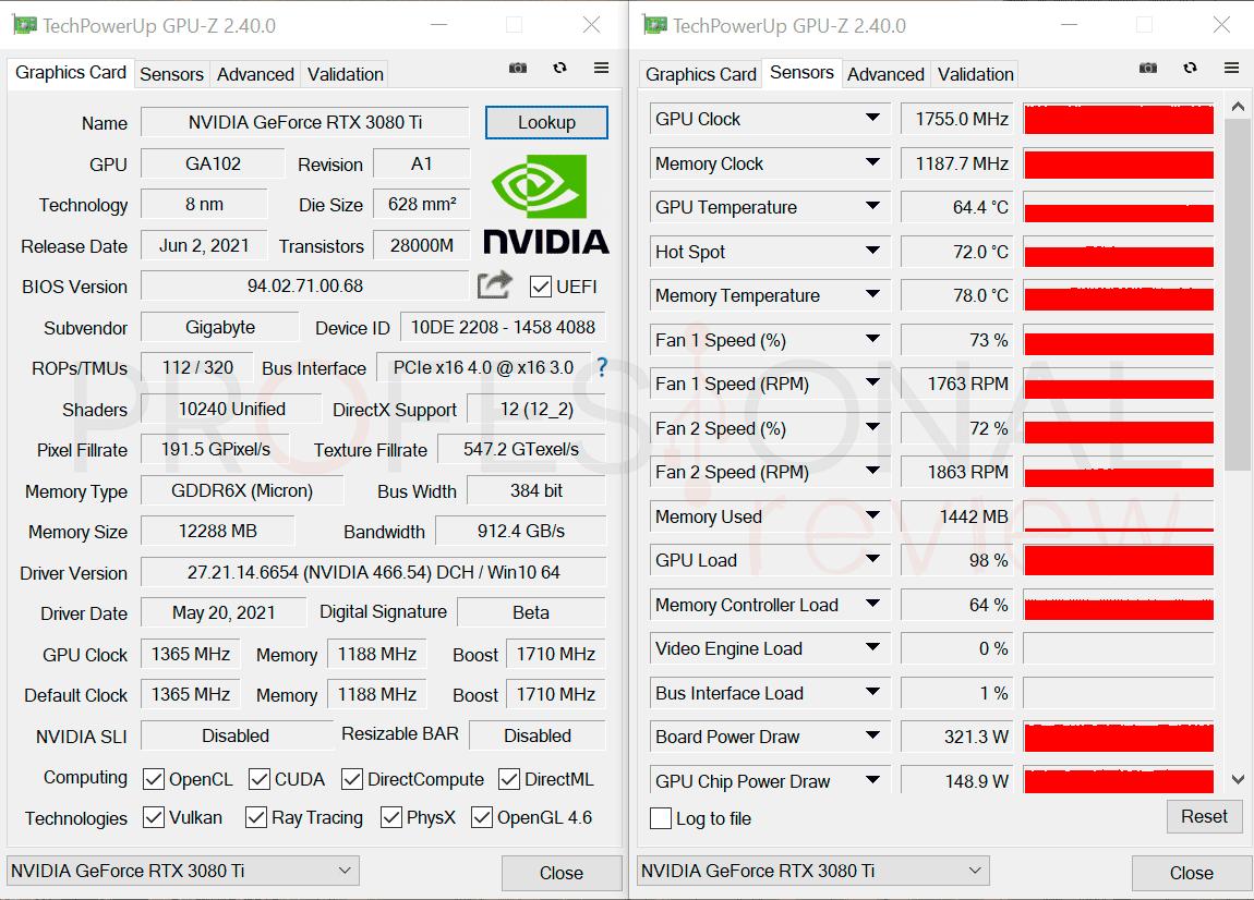 Gigabyte RTX 3080 Ti Gaming OC 12G Review
