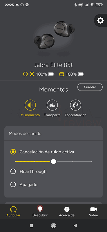 Jabra Elite 85t Software