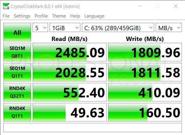MSI Bravo 15 B5DD SSD