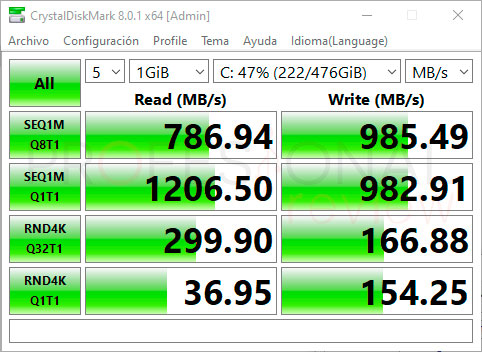 MSI Katana GF76 11UE SSD
