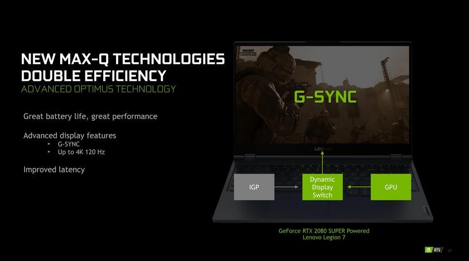 NVIDIA Advanced Optimus