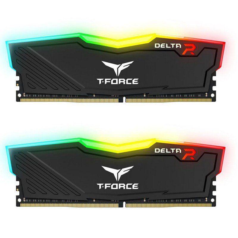 Memoria RAM DDR4 Team Group Delta RGB 16GB (2x8GB) CL16 3200MHz