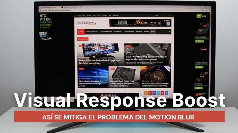 Todo sobre el Visual Response Boost VRB