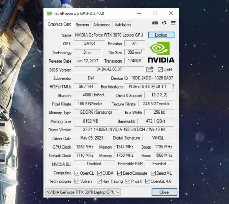 alienware m15 rtx 3070