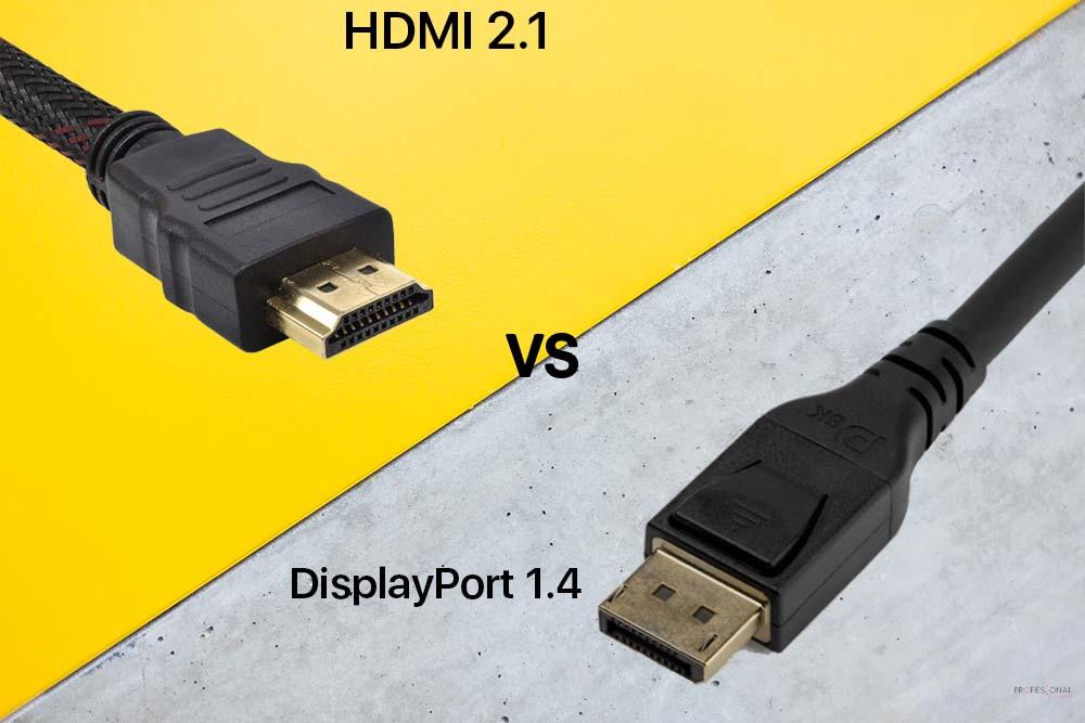 displayport 1.4 vs hdmi 2.1