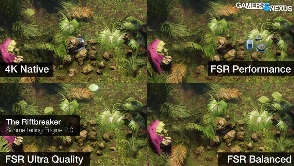 fidelityfx super resolution calidad