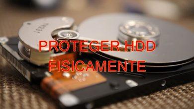 proteger disco duro fisicamente