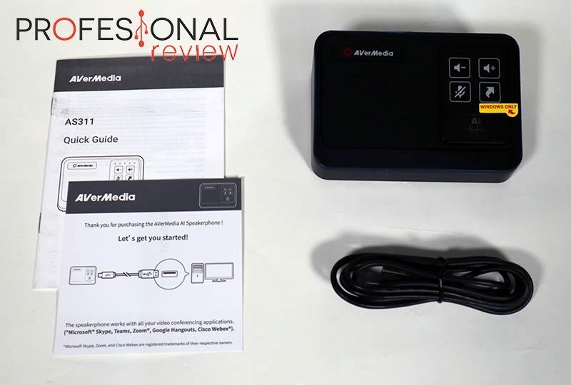 AVerMedia AI Speakerphone AS311 review