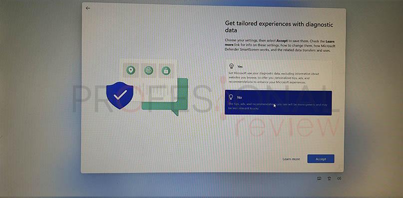 datos de diagnóstico windows 11