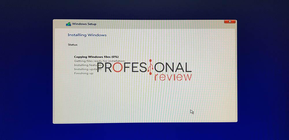 instalar windows 11