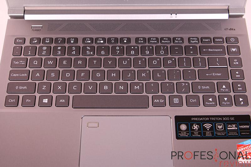 Acer Predator Triton 300 SE Teclado
