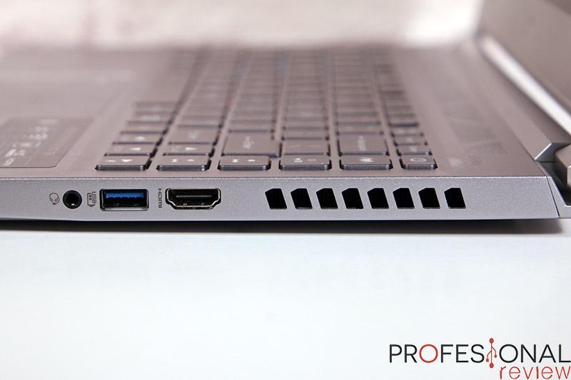 Acer Predator Triton 300 SE puertos