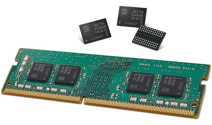 Chips DRAM
