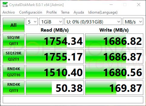 KIOXIA Exceria SSD 1TB Benchmarks