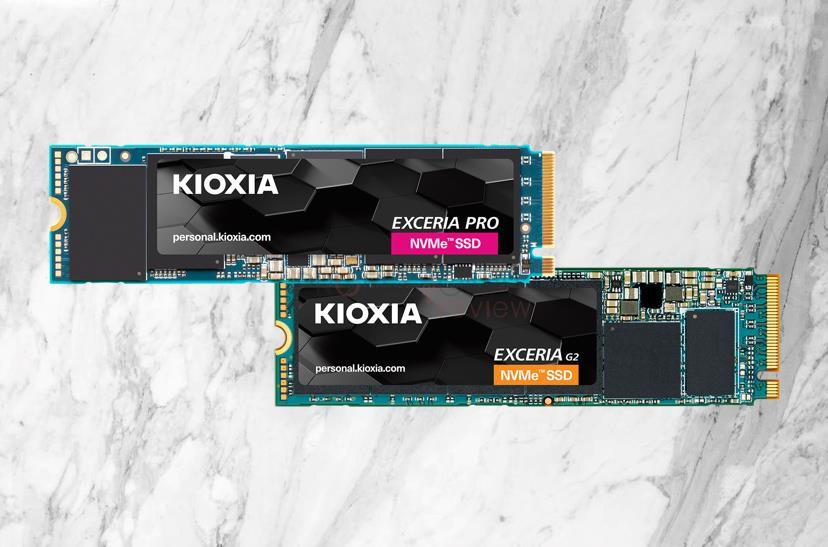 KIOXIA Exceria Pro y Exceria G2