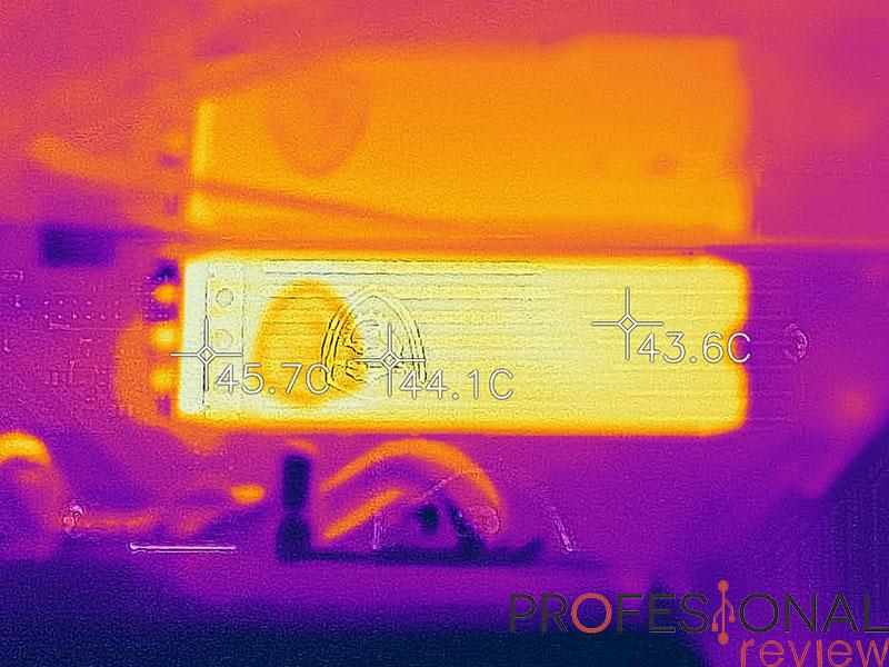 MSI SPATIUM M480 Temperaturas