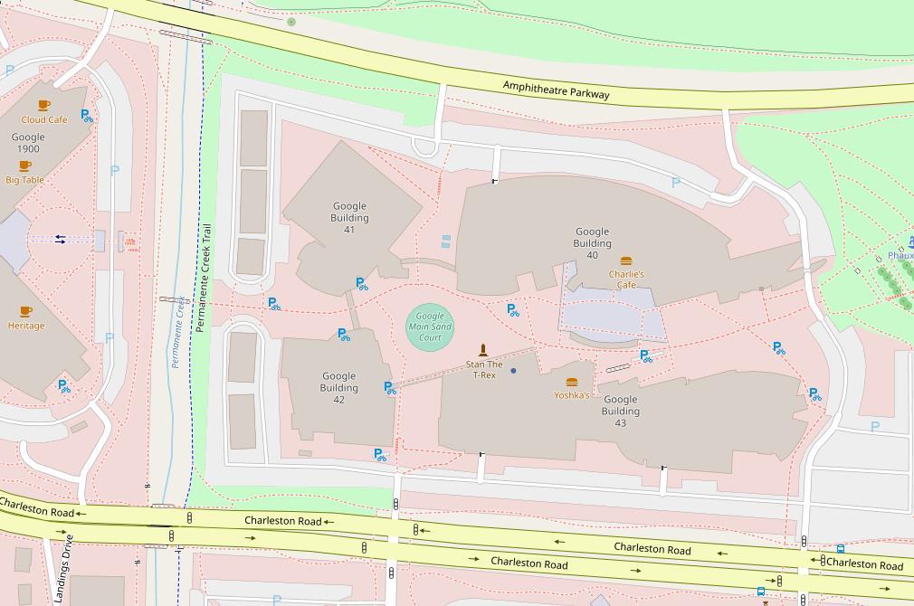 OpenStreetMap Google