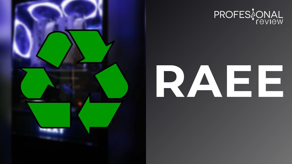RAEE residuos de aparatos eléctricos y electrónicos