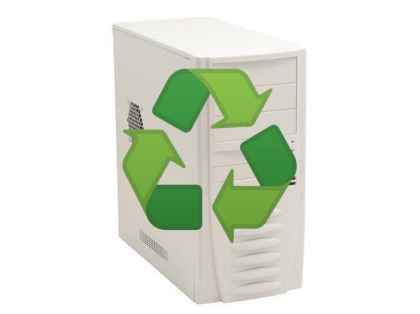 Reciclaje PC antiguo