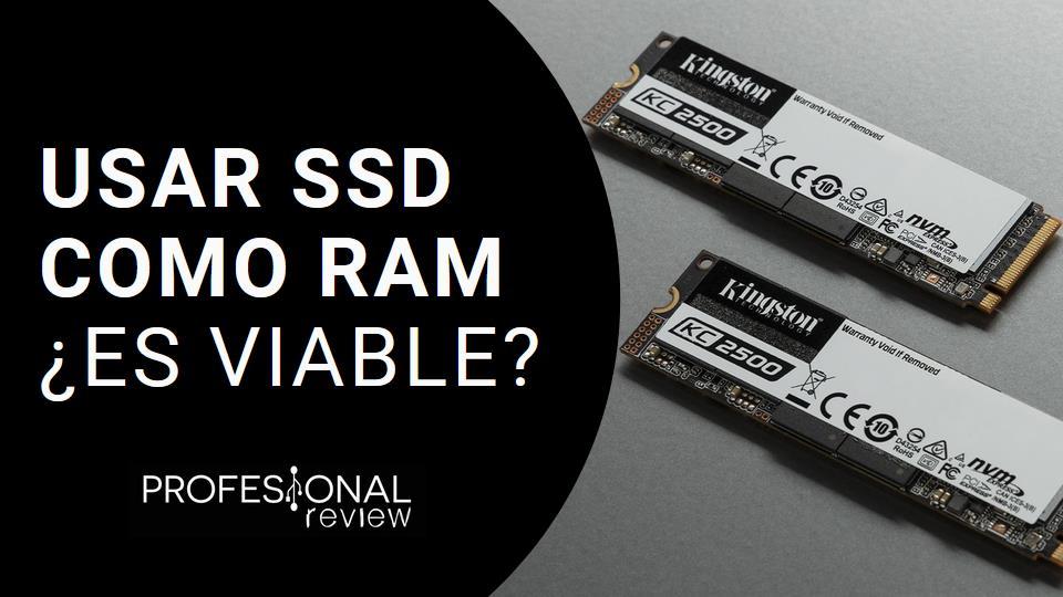 SSD como RAM: ¿es viable?