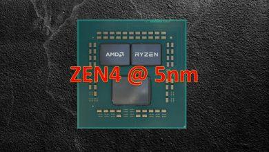 procesador amd zen4 5nm 2022