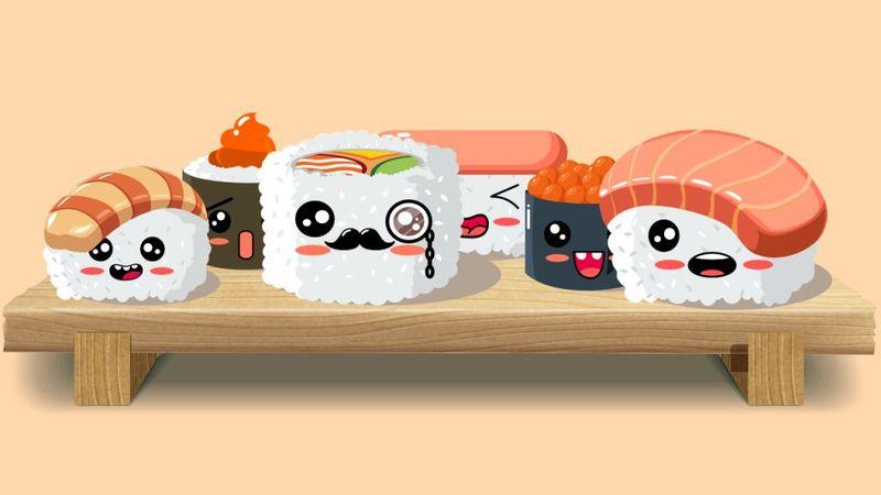 token sushi