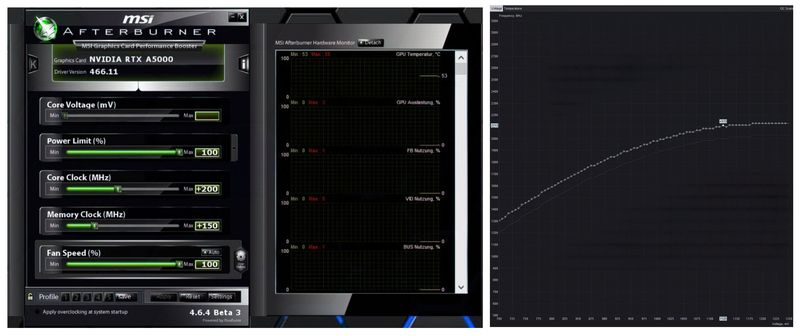 software afterburner grafica rtx a5000