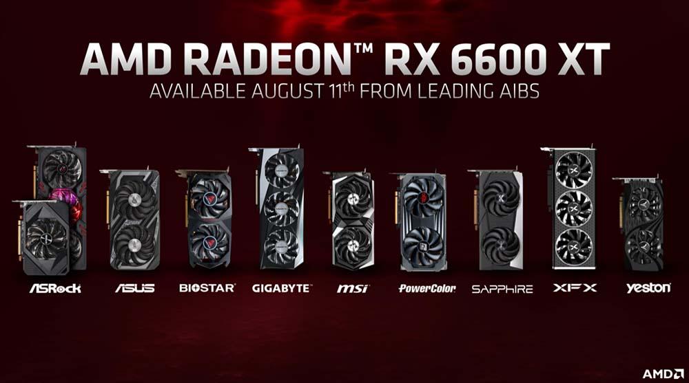 rx 6600 xt lanzamiento