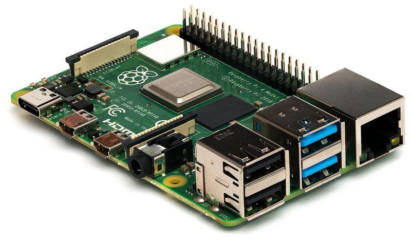 placa raspberry pi