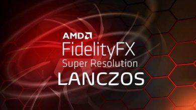 AMD FSR FidelityFX Super Resolution Lanczos