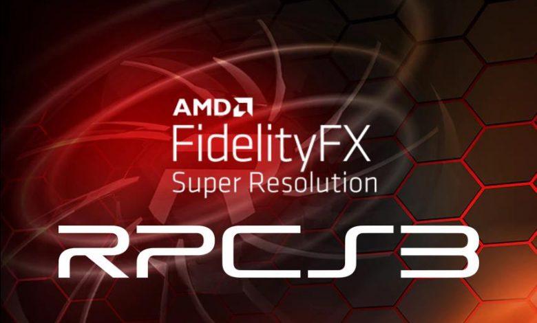 AMD FSR RPCS3