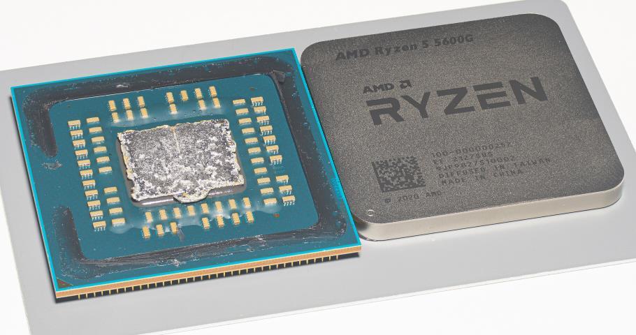 AMD Ryzen 5 5600G por dentro