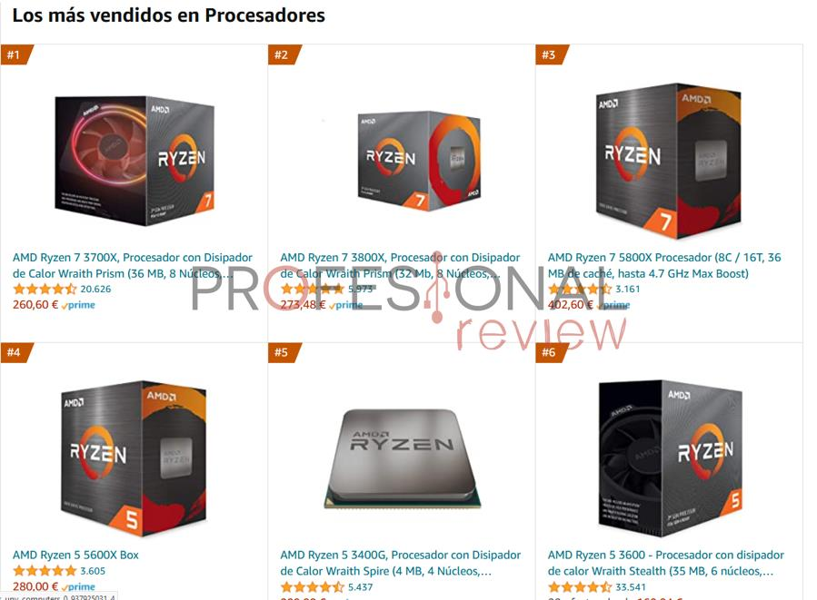 AMD ventas en España