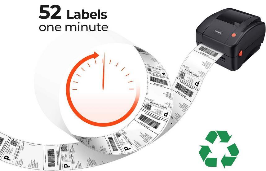 Impresora de etiquetas velocidad