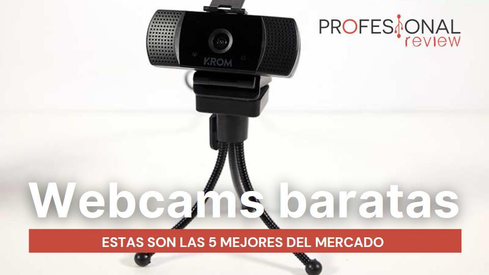 Mejor webcam barata del mercado