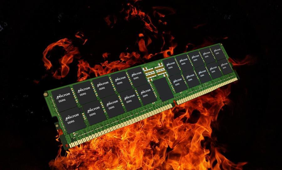 Corsair confirma que DDR5 se calienta más que DDR4