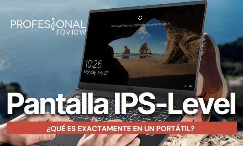Pantalla IPS-Level Que significa