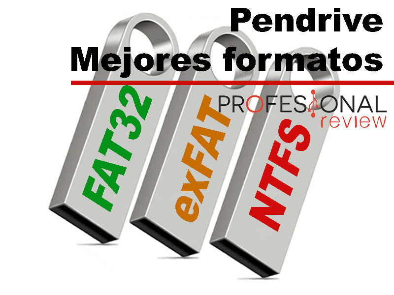 Pendrive NTFS o FAT32